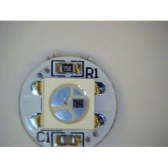 WS2812B RGB LED lysdiode  På print