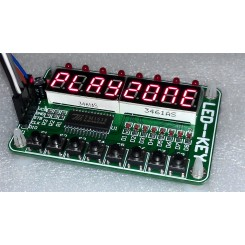 TM1638 8 cif 8 keys 8 LED