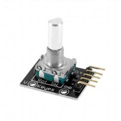 Rotary Encoder Push Button På print