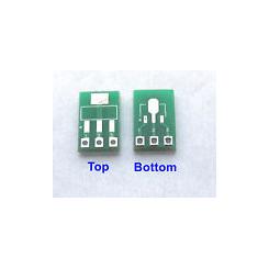 SOT223 og SOT89 adaptor (AMS1117)