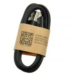 Micro USB data og lade kabel sort