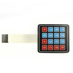 4 x 4 Matrix  Key Membrane Keypad
