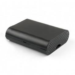 Raspberry Pi 2 og 3 black Acrylic Case