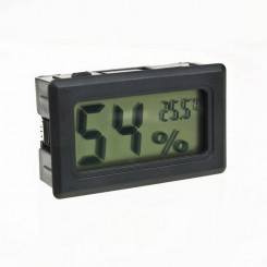 Fugtighed og temperatur panel meter