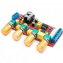 NE5532 Forforstærker tonekontrol Bas mellemtone diskant. Byg selv type 1