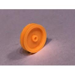Remskive til 2mm aksel