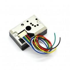 Optisk støv og røg sensor