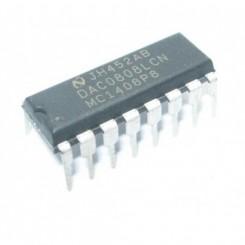 DAC0808 digital to analog konverter 8 bit
