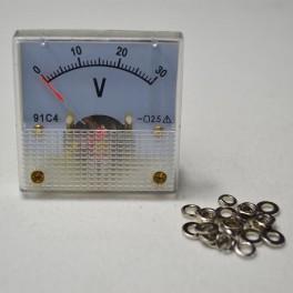 Analog Voltmeter  0-30v
