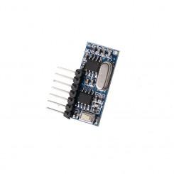 433Mhz modtager med EV1527 parring