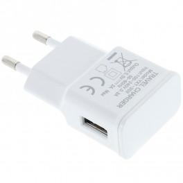 5V 2A AC DC USB Power Adapter. Hvid