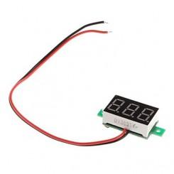 Voltmeter 2 ledninger