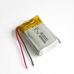 3.7V 400mAh 25C Lipo Battery