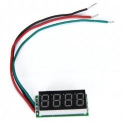 Voltmeter 4 ciffer