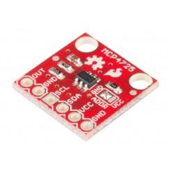 MCP4725 I2C 12 bit DAC breakout PCB