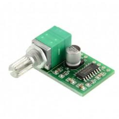 ClassD  stereoforstærker med potentiometer