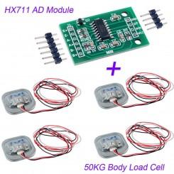 Vægt sensor modul med 4 sensorer