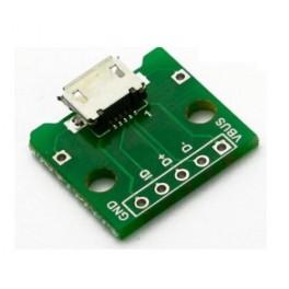 Mini USB female connector B type Print