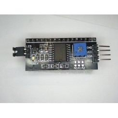 Parallel to seriel i2c LCD