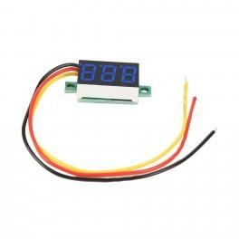 Voltmeter 3 ledninger