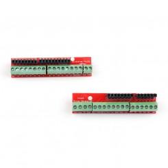Arduino I/O skrue terminaler