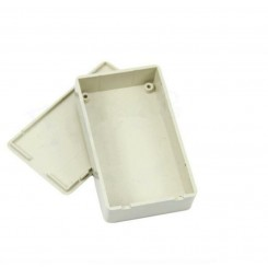 Montering box grå 50 x 80 x 20mm