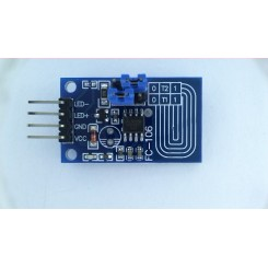Capacitive touch dimmer PWM