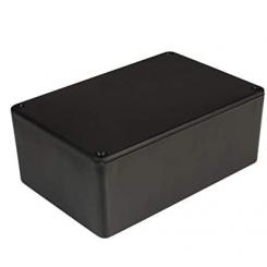 Montering box  Sort 150 x 100 x 55