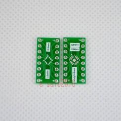 QFN16 / LGA16 adaptor print