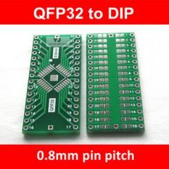QFP32  adaptor print