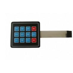 3 x 4 Matrix  Key Membrane Keypad